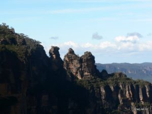 The Three Sisters - early on in the hike