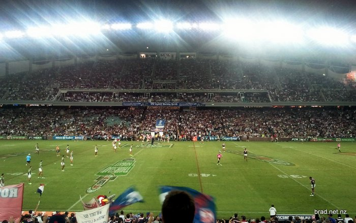 NRL at the SFS