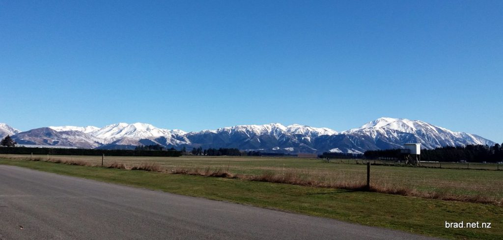 Mt Hutt from Methven